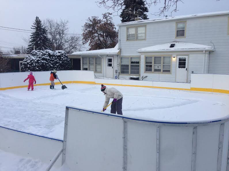 D1 Backyard Rinks  Synthetic Ice, Basement or Backyard Rink Kits