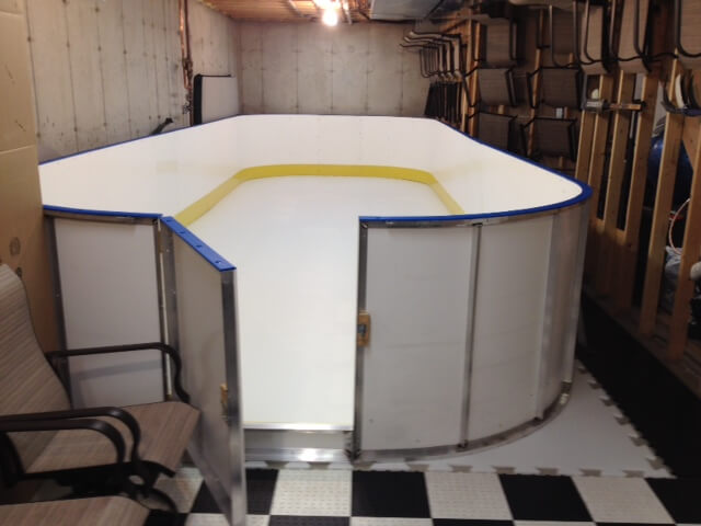 Learn More About Synthetic Ice D1 Backyard Rinks