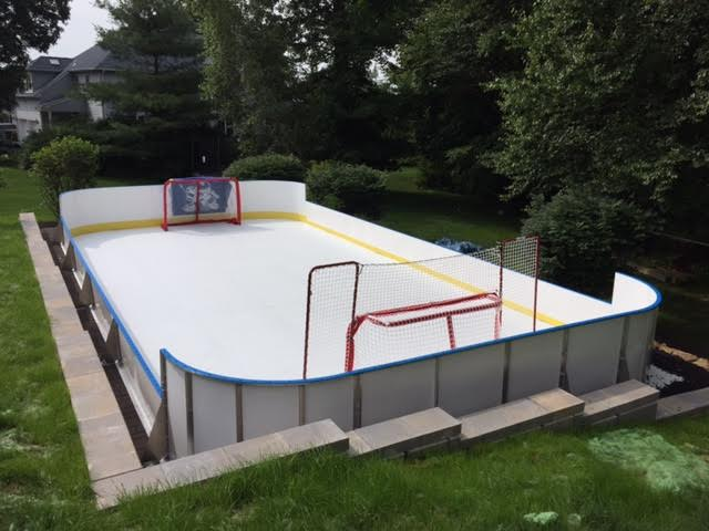 Backyard Rink Boards : 20x 40Backyard Rink with Combination Boards