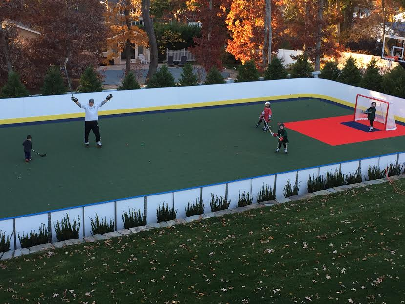 learn more about hockey rink boards d1 backyard rinks