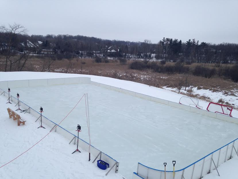 Tarp For Backyard Rink : D1 Backyard Rinks  Synthetic Ice, Basement or Backyard Rink Kits