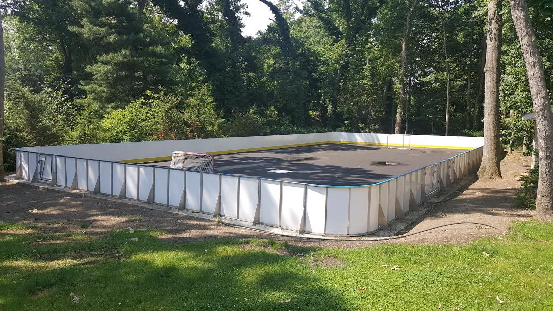 Backyard Rink Kit : Backyard Rink Kits, Hockey Shooting Lanes, Hockey Boards, Ice Rink