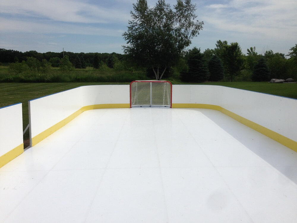 D1 – Photo Gallery – Backyard Rink - Year Round Ice Rinks Indoor & Outdoor Ice Rinks D1 Backyard RInks