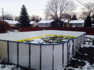 Backyard Winter Rink - Edina, MN