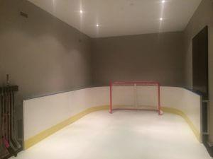 Basement Synthetic Ice Rink - Ontario