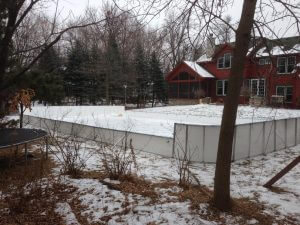 Backyard Winter Rink - Chanhassen, MN