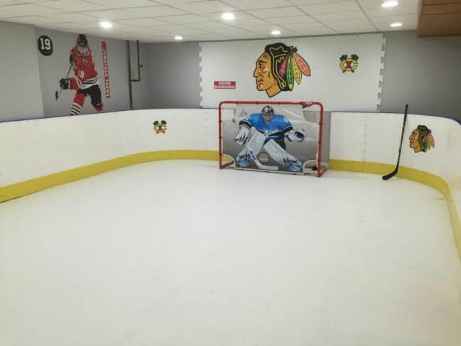 Basement Synthetic Ice Rink - Prospect Heights, IL