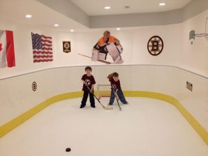 Basement Synthetic Ice Rink - Medfield, MA