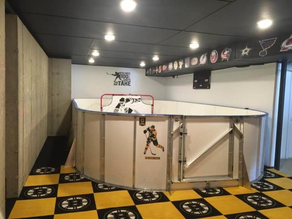 Basement Synthetic Ice Rink - Berlin, MA