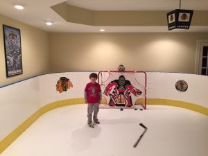 Basement Synthetic Ice Rink - Troy, OH