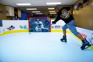 Basement Synthetic Ice Rink - Van Nuys, CA