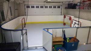 Garage Synthetic Ice Rink - Kirkland, WA