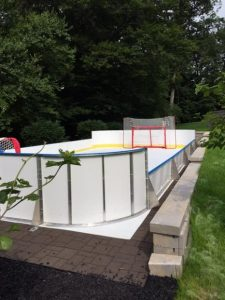 Backyard Synthetic Ice Rink - Randolph, NJ