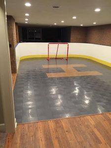 Basement Hockey Rink - Manilus, NY