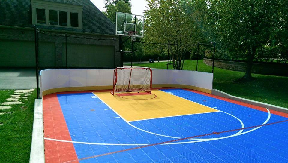 Hockey Boards on Sport Court - St. Louis, MO