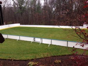 Backyard Winter Rink - Newton, MA