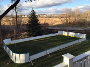 Backyard Winter Rink - Plymouth, MN