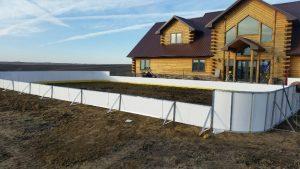 Backyard Winter Rink - Allen, NE