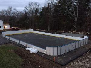 Backyard Winter Rink - Gloucester, MA