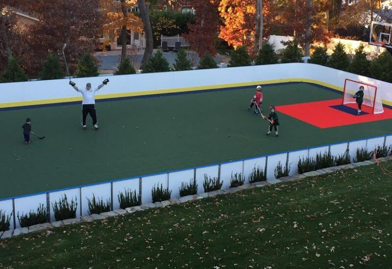 40u2032 X 80u2032 Tall Boards   Synthetic Ice, Basement And Backyard Rink Kits