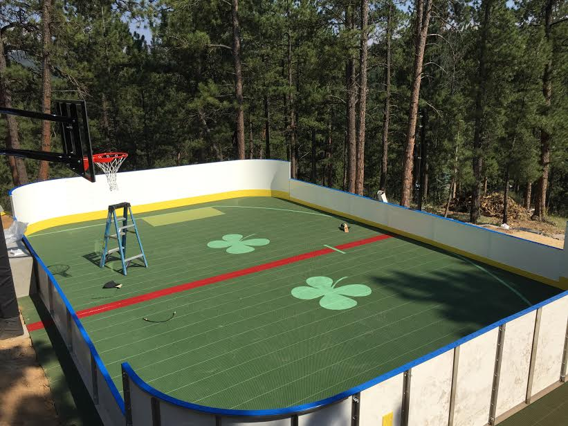 Hockey Boards on Sport Court - Highlands Ranch, CO