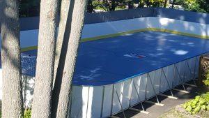 Hockey Boards on Sport Court - Oakdale, NY
