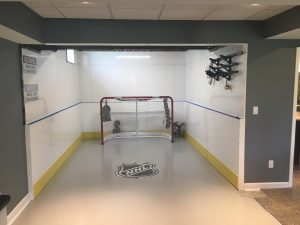 Basement Hockey Rink - Brownstown, MI