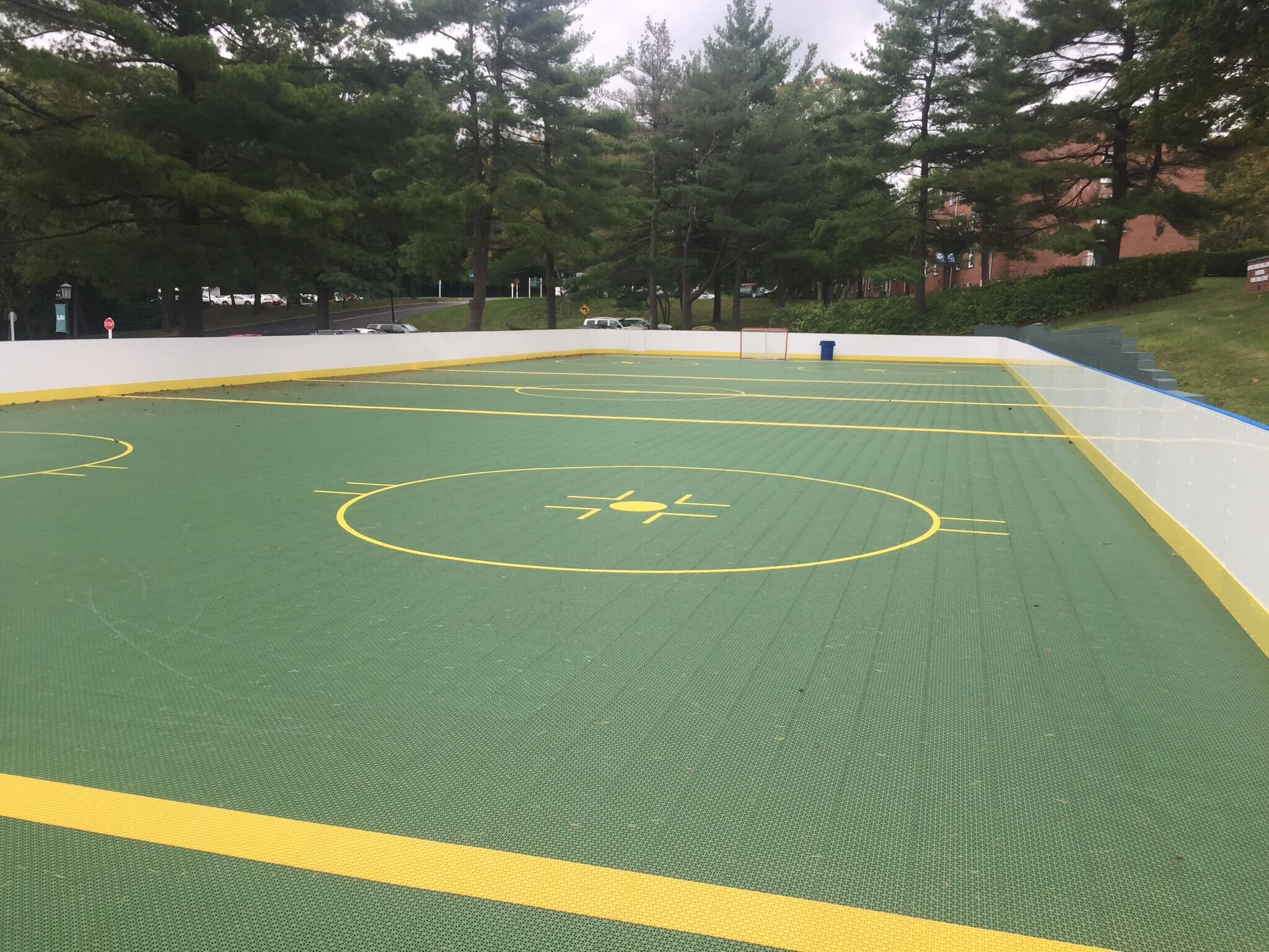 Hockey Boards on Game Court - Farmingdale, NY