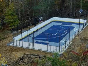 Hockey Boards on Sport Court - North Andover, MA