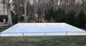 Backyard Winter Rink - Carlstadt, NJ