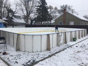 Backyard Winter Rink - Pipestone, MN