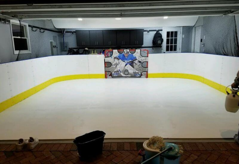 Learn More About Hockey Rink Boards D Backyard Rinks - Backyard roller hockey rink