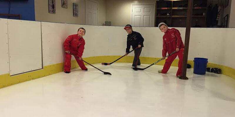 Indoor Hockey Rink