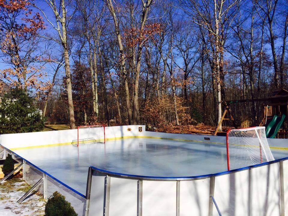 Backyard Winter Rink