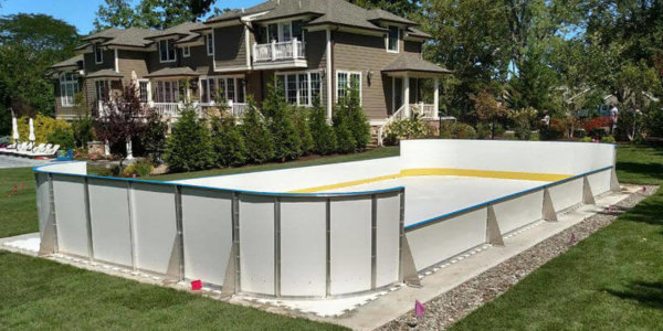 Backyard Synthetic Ice Rink - Livingston, NJ