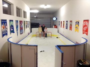 Garage Synthetic Ice Rink - Denver, CO