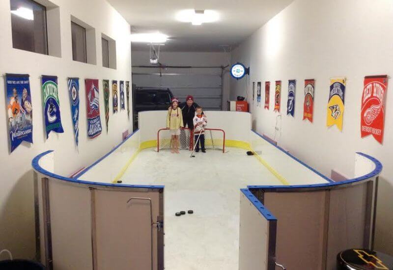 Indoor Basement Rink
