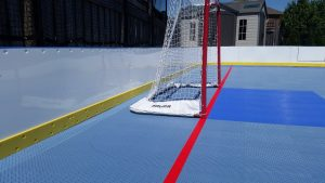 Hockey Boards on Game Court - Ontario