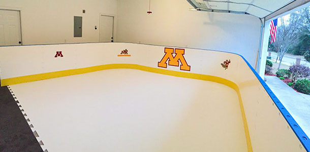 Garage Synthetic Ice Rink - Enterprise, AL