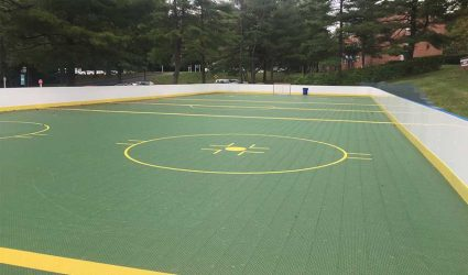 Backyard Rink Sport Court