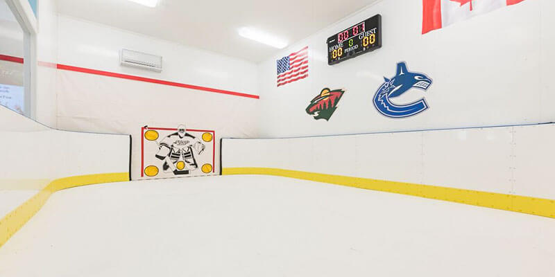 Indoor Rink Backyard Rink