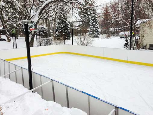 Backyard Winter Rink
