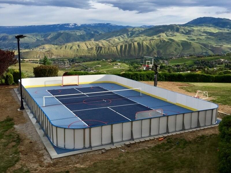 Year Round Sport Court Rink