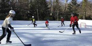 Backyard Winter Rink - CT