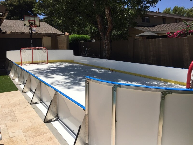 Backyard Synthetic Ice Rink - Phoenix, AZ