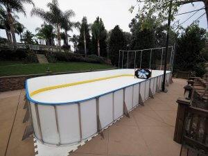 Backyard Synthetic Ice Rink - Laguna Hills, CA