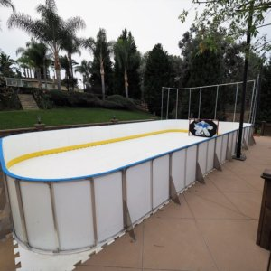 Backyard Synthetic Ice Rink - Laguna Hills, CA