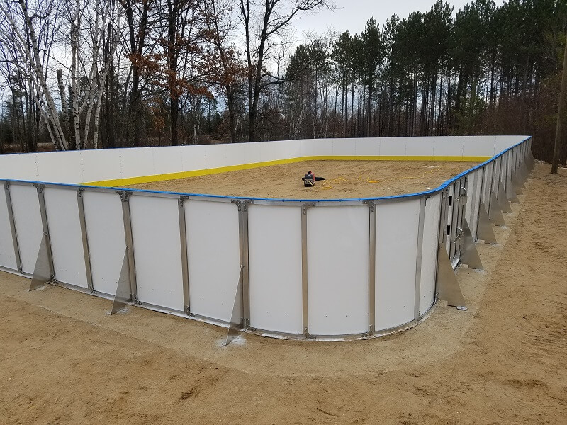 Outdoor Community Winter Rink