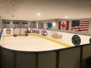 Basement Synthetic Ice Rink - St. Louis, MO
