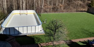 Backyard Synthetic Ice Rink - Lutherville, MD